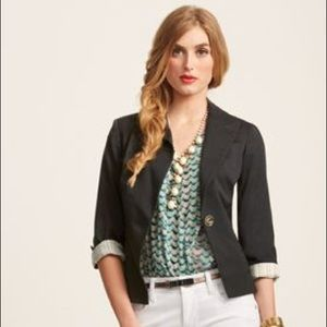 Cabi Bossy Charcoal, on button Blazer Size 10
